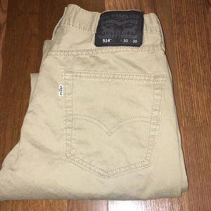Khaki Levi jeans